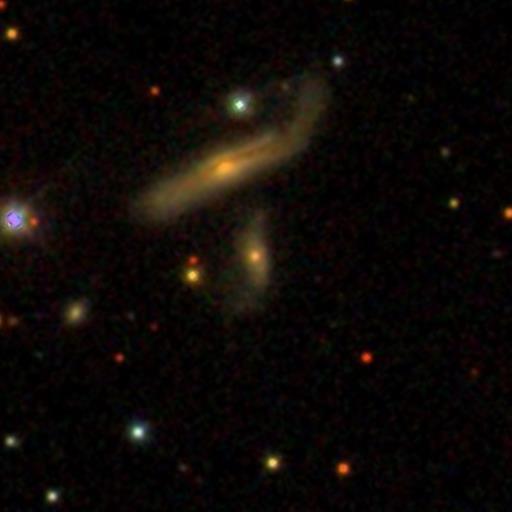 broken disk galaxy dustlane